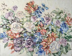 """""""Sophies Choice (16.5.17)"""", 120x150cm, oil on canvas."""