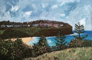 """bilgola vista"", 2011, 60""x40"", oil on canvas"
